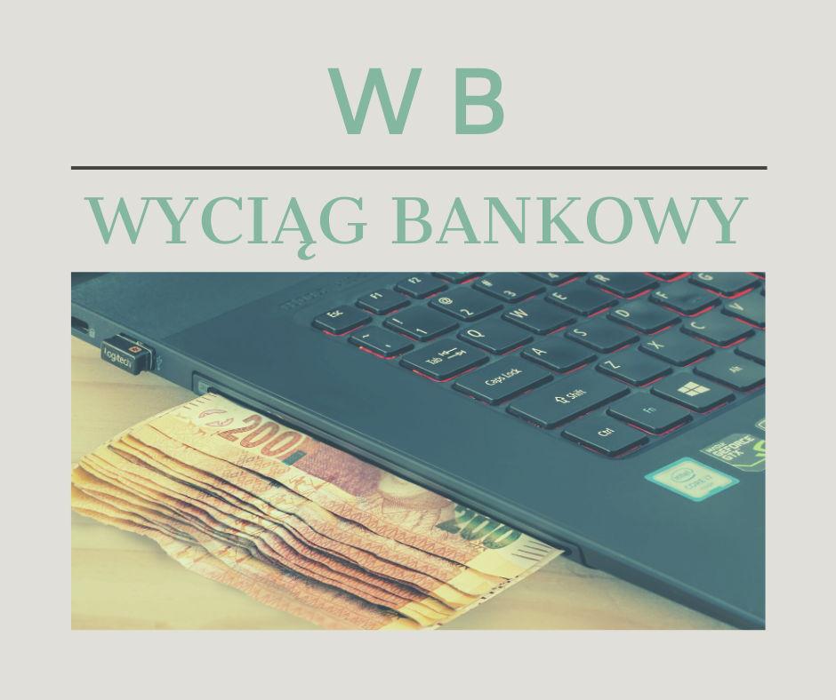 Dowody księgowe – WB