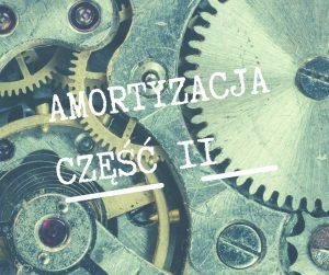 Amortyzacja część II