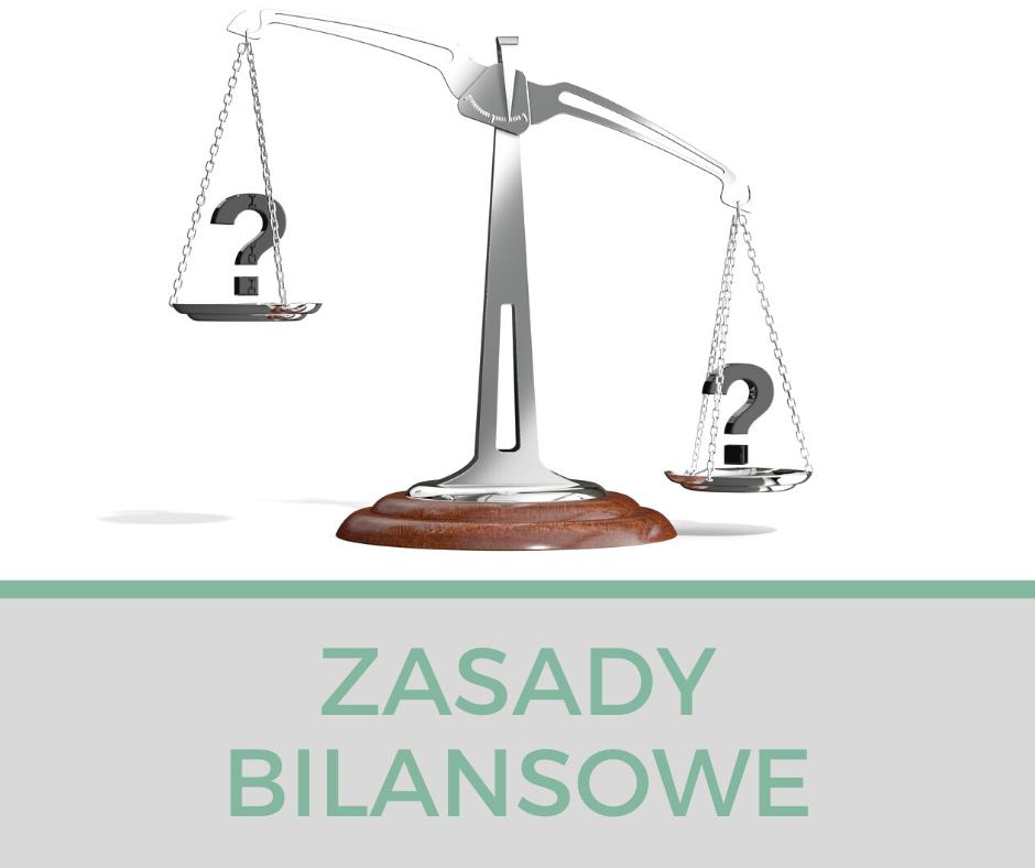 Zasady bilansowe