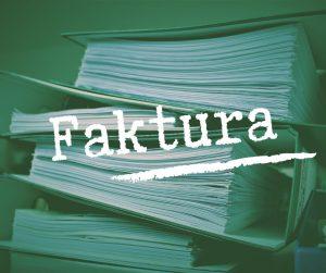 Dowody księgowe – Faktura